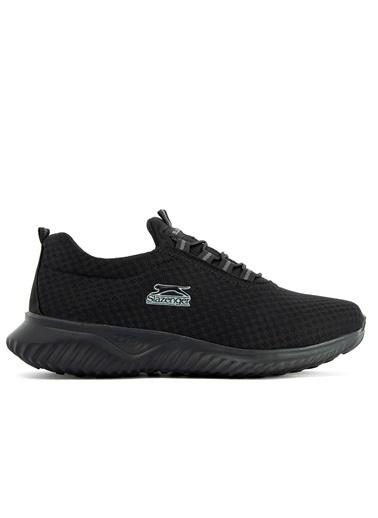 Slazenger Slazenger Albus I Yürüyüş Erkek Ayakkabı  Siyah